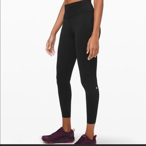 "Lululemon Fast and Free 25"" leggings"